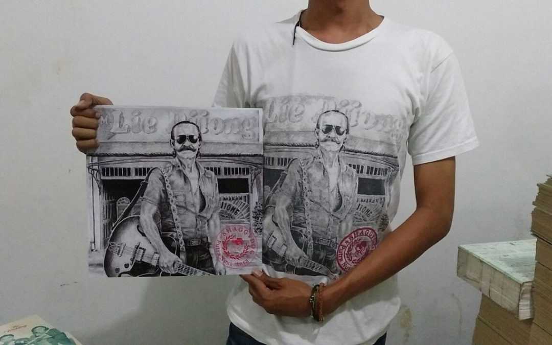 Khusus Record Store Day 2017, Shaggydog Lepas Versi Vinyl Putra Nusantara