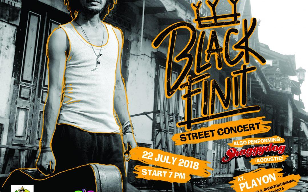 Ramaikan Ajang Prawirotaman Fest, Black Finit Gelar Street Concert