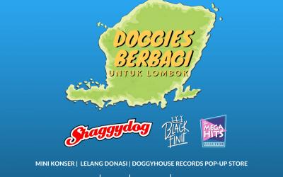 Doggies Berbagi Untuk Lombok, Shaggydog Gelar Mini Konser Penggalangan Dana Korban Gempa Lombok