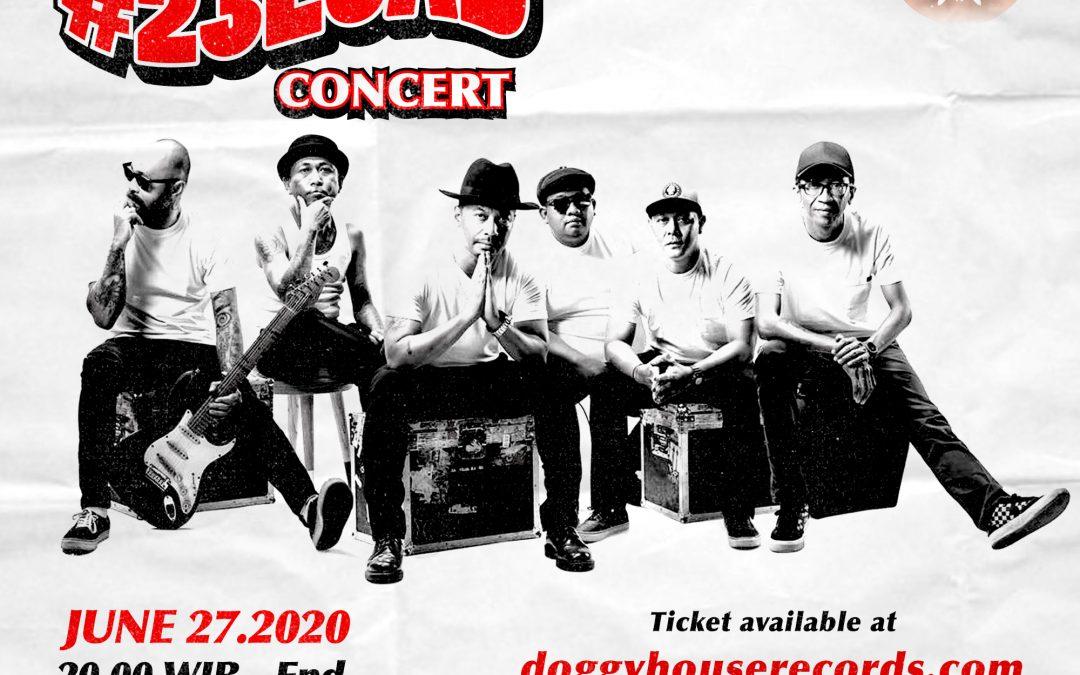Shaggydog Usung Konser Ulang Tahun Secara Daring