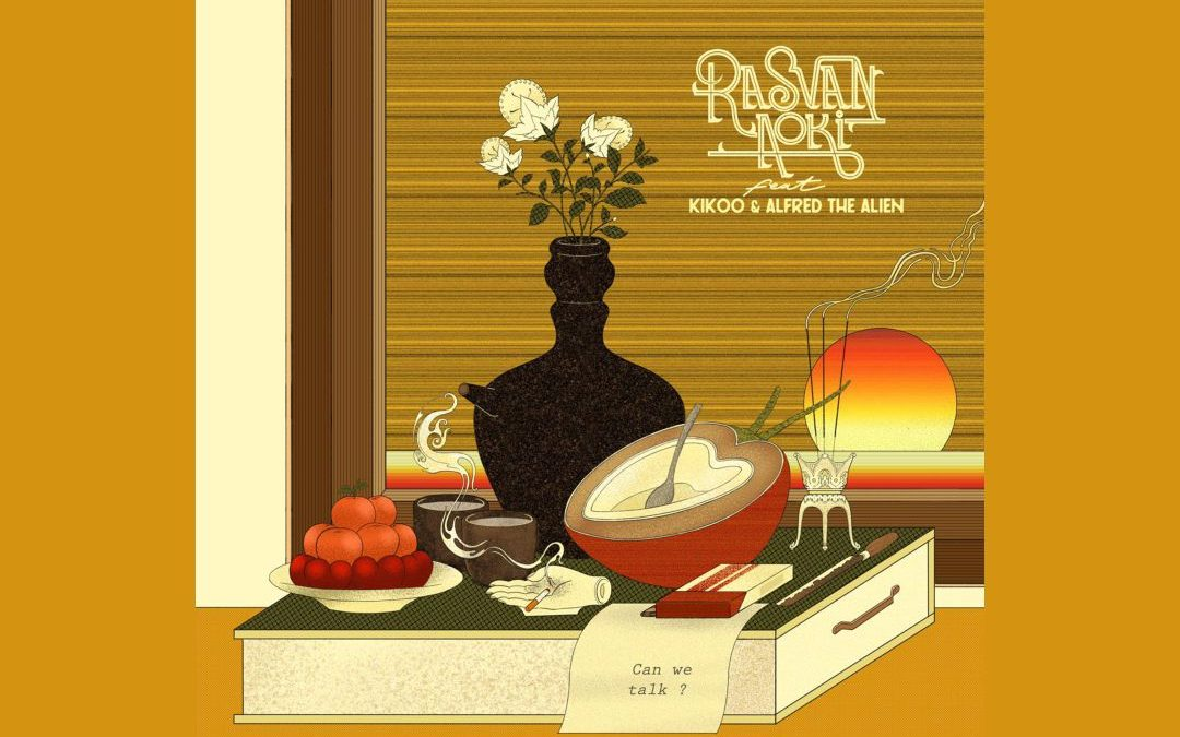 "RILIS ""CAN WE TALK?"", RASVAN AOKI GANDENG KIKOO SAJIKAN NUANSA POETRY-DUB"